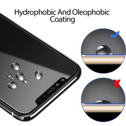 Iphone 5s screen protectIon online shopping - Anti Fingerprint Scratch Wear Screen Protector Compatible for iPhone X TIQUS Pack Premium Tempered Glass Screen Protection with D Full