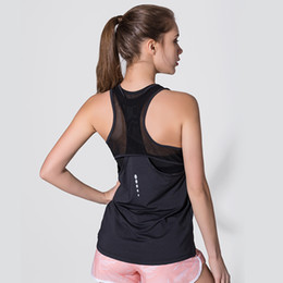 $enCountryForm.capitalKeyWord Canada - Women Yoga Shirts Tops Hollow Loose Sleeveless Lady Fitness Tank Gym Workout Vest Professional Sport Quick Drying Running Shirts