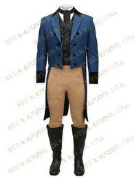 Discount cloth free tv - Free Shipping Jazz Cloth Double-breasted Mens Steampunk Tailcoat