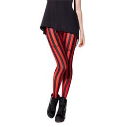 $enCountryForm.capitalKeyWord Canada - Women High Waist Digital Stripe Printed Leggings Fitness Yoga Elastic Tight Slim Fit Long Pants shop -Hot BB55