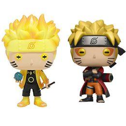 Funko Pop Animação: Naruto - Naruto Seis Caminho / Modo Sábio Figura de Ação de Vinil Com Caixa de Presente Boneca de Brinquedo em Promoção