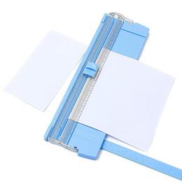 Großhandel A4 / A5 Tragbarer Papierschneider Scrapbooking-Maschine Präzisions-Papierschneider Schneidematte Maschine Büropapierschneider