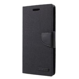 $enCountryForm.capitalKeyWord UK - MERCURY GOOSPERY Flip Phone Case for Samsung J4 2018 Canvas Diary Leather Wallet Mobile Cover for Samsung Galaxy J4 (2018) Capa