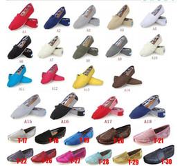 $enCountryForm.capitalKeyWord Canada - Casual Shoes Women Men Classics TOM MRS Loafers Canvas Slip-On Flats shoes Lazy shoes size 5-15 free shipping khaki