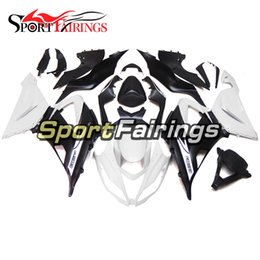 $enCountryForm.capitalKeyWord Australia - ABS Plastics Pearl White Black Motorcycles Full Fairings For Kawasaki ZX6R Year 2013 - 2017 14 15 16 17 Sportbike Body Kit Cover Free Gifts