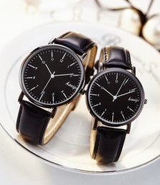 Brand Luxury Style Watch Australia - Couple watches For Lovers luxury top brand waterproof casual style New Fashion Ultrathin Quartz Leather watch High quality