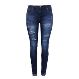acc44aae3b43e Nouveau 2018 Skinny Slim-fit Hanches Petit Pieds Jeans Taille Moyenne Femmes  Denim Pantalon Pantalon Crayon Pantalon Décontracté Noir Blanc Jean Stretch