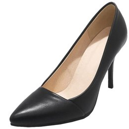 $enCountryForm.capitalKeyWord NZ - SJJH 2018 Pumps with Pointed Toe and Stiletto Elegant Working Dressy Shoes for Fashion Women with Large Size Available A317