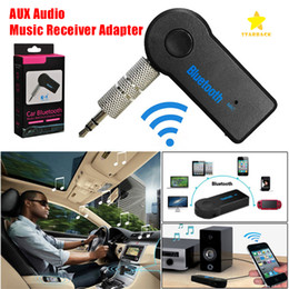 3,5 mm Auto Bluetooth-Empfänger Car Kit Car Audio FM Wireless Transmitter mit Mikrofon mit Kleinpaket im Angebot