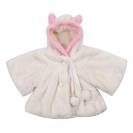 03b868a36884c 2018 Kids Baby Girls Snow Wear Rabbit Bunny Ear Hooded Coat Jacket  Snowsuits Thicken Outwear Winter Warm Cute Casual Sale 0-30M