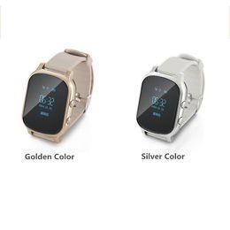 $enCountryForm.capitalKeyWord Australia - Cheap T58 Smart Phone Watch Kids Child Elder Adult GPS Tracker Smart watch band Personal gps Locator GSM Tracking Device