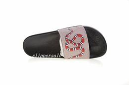 82abeff0725f5 mens womens snake print rubber slide sandals flip flops outdoor indoor  fashion beach causal flats slippers
