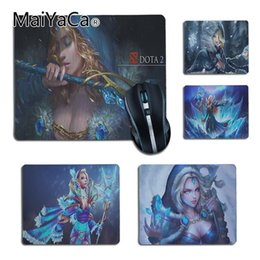 crystal player 2019 - MaiYaCa Cool New Crystal Maiden dota2 Customized laptop Gaming small mouse pad Gaming Player desk laptop Rubber Mouse Ma