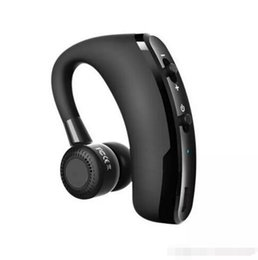 High Quality Bluetooth Canada - high quality V9 Bluetooth earphone CSR 4.1 Business Stereo Earphones With Mic Voice Control Wireless earphone with package