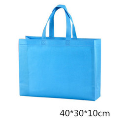 Recyclable fabRics online shopping - Eco Shopping Bag Reusable tote non woven shopping bags high quality Cloth Fabric Grocery Packing Recyclable cm cm