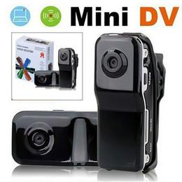 Venta al por mayor de Mini cámara de video portátil MD DVR DV20 720P HD DVR videocámara micro digital Video cámara de la grabadora de audio para moto Motobike