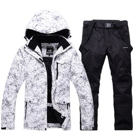$enCountryForm.capitalKeyWord NZ - Snow Jackets Man Woman Snowboarding Clothes Winter Outdoor Sports ski suit sets Waterproof Thick -30 Warm Costume jackets+pants