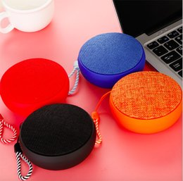 Small audio player online shopping - Factory Private Model Q9 Bluetooth Speaker Fabric Wireless Mini Lanyard Small Speaker Outdoor Hands free Calling Gift Customization