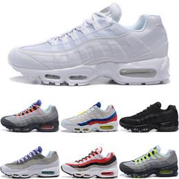 hot sale online 1c652 6145d Discount 95 shoes - Men Women 95 95s What The Running Shoes OG Neon Grape  Triple
