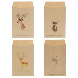 European Stationery NZ - 12Pcs Vintage Deer Mini Paper Envelope European Style Envelopes for Invitations Card Scrapbooking Gift Stationery