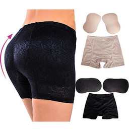 e79fa7cdfe1 Women s Seamless Butt Lifter Panties Underwear Panty with Foam Butt Pads  Slimming Body Shaper