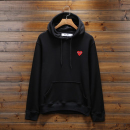 Brand mens hoodie online shopping - Designer Hoodies New Arrival Brand Hoodie Autumn Spring Mens Hoodie Loose Casual Hoodie Men and Women Thick Heart Embroidery Pullover
