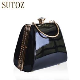 Ladies Evening Handbags Australia - Luxury Handbags PU Women Bags Designer Diamond-studded Lady Day Clutch Evening Box Bag Purse Messenger Shoulder Bag Pouch BA401
