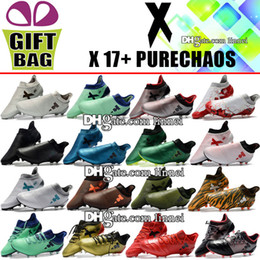 $enCountryForm.capitalKeyWord Canada - Brand High Tops Soccer Cleats Cheap X 17 Purechaso FG Soccer Boots Trainers Firm Ground ACE 17.1 Pure Chaos NSG Football Shoes For Mens