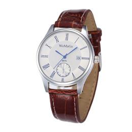$enCountryForm.capitalKeyWord Australia - Fashion Men's Quartz Wristwatches Leather Strap Simple Style Calendar Sapphire Glass Male Hand Wrist Watch Reloj Moda Hombre