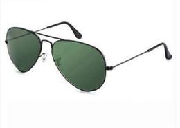 China Glasses Sunglasses Australia - good hot black 58mm case china luxury fashion brand new Glass lens Men Women pilot Sunglasses Sport Sun glasses With box