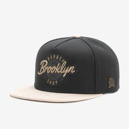 12387281606 Brooklyn Mens Adjustable Snapbacks Hip Hop Street Dance Skateboard Snapback  Hats Cotton Black Baseball Cap Casquette Drop Shipping