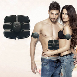 Fit Massager Australia - Smart EMS Wireless Electric Massager Abdominal Muscle Toner ABS Fit Muscle Stimulator Abdominal Muscles Trainer DHL FEDEX free