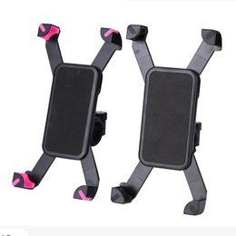 Ajustável universal mtb bicicleta da bicicleta da bicicleta titular mount band para iphone samsung telefone celular panniers ciclismo acessórios