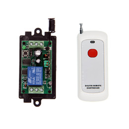 $enCountryForm.capitalKeyWord UK - 500m Long DC 9V 12V 24V 10A 1CH 1 CH Wireless Remote Control Switch Relay Output Radio RF Transmitter + 315 433 Receiver