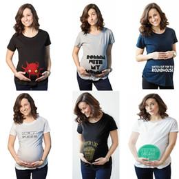 b8b04c1f Funny pregnancy shirts online shopping - Casual Print funny maternity  pregnant T shirts Women Cotton Cute