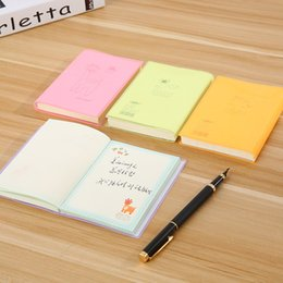 $enCountryForm.capitalKeyWord Australia - Cute Student NotPVC Hardcover NotPaper Notepad Journals Color Inner Page Stationery Student School Supplies