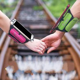 Man phone holder online shopping - Outdoor Portable Phone Holder Rotatable Wristlet Sweatproof Adjustable Arm Bag Man Women Smartphone Sports Bags Wristband High Quality hm