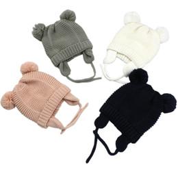 9591535f55d 3 Sizes Baby Hats 1-5 Years Boys Girls Hats Kids Winter Bonnet Enfant Hat  For Children Baby Muts KF744