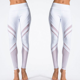 $enCountryForm.capitalKeyWord Canada - Hirigin 2017 New High Waist Striped Leggings Women Sexy Hip Push Up Pants Fitness Leggings White Slim Workout Sporting