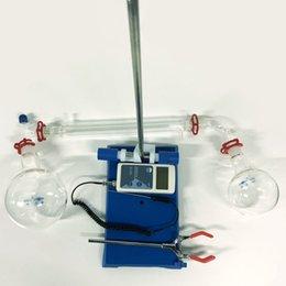 Apparecchiatura da laboratorio New 1L Easy Short-path Distillation Rapid Purification Impianto distillato Kit Per la purificazione e la distillazione delle piante