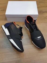 8bf111cf 2018 Paris DESIGNER SNEAKERS Zapatos casuales MENS MUJERES DEPORTES MARCA  RUNNERS Transpirable diario Calzado Desfile de moda Vestido Tenis