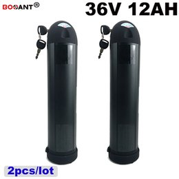 $enCountryForm.capitalKeyWord NZ - 2pcs lot Electric Bicycle Lithium Battery 36V 12Ah Water Bottle Style E-bike battery For Bafang BBSHD 800W Motor EU US AU no tax