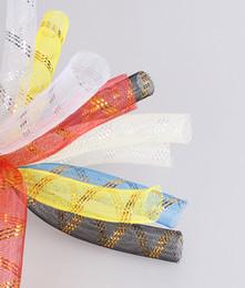Crinoline Hair NZ - Metallic 16mm Tubular Horsehair Crinoline Tube Crin material Trimming for fascinator DIY hair accessories 100yds lot 24 colors Free Shipping