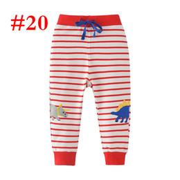2ef59a54c1 2-7Y INS Invierno Primavera niños rojo blanco a rayas Dibujar cordón pantalones  pantalones de pp de impresión completa Pantalones deportivos Terry 100% ...