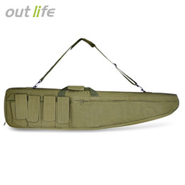 Volleyball Gear NZ - 1.2M Fishing Bag fly fishing bags multifunctional Rod reel tackle Holder Pouch Bag Fishing Pole Gear Travel Storage Bag