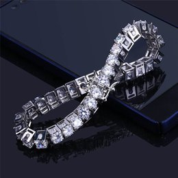 $enCountryForm.capitalKeyWord NZ - Bling Bling Cubic Zirconia Bracelet for Men Brand Design Luxury Gold Silver Hiphop Jewelry Ice Out Cuba Chains