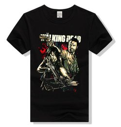 Discount walking dead clothes - Men Women The walking Dead T-Shirt Darryl brothers Casual Slim Unisex Tee Clothing Cotton Short Sleeve casual fashion T-