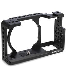 Discount dslr camera cage rig - wholesale Camera Cage DSLR Protective Case Cover Camera Video Cage Stabilizer Rig Camera Protective Cage for Sony A6000