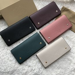 Best Brand leather purses online shopping - best original quality authentic calf skin LUXURY wallet Brand Designer purse