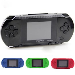 pxp3 16 bit 2018 - 16 Bit PXP3 Handheld Game Player Game Console with AV Cable Support TV-out 2 Game Cards PXP 3 Slim Station Classic Games